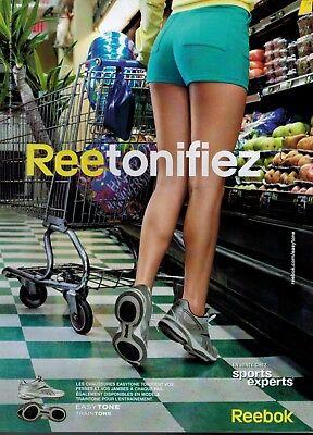 2010 REEBOK Easytone shoes : French