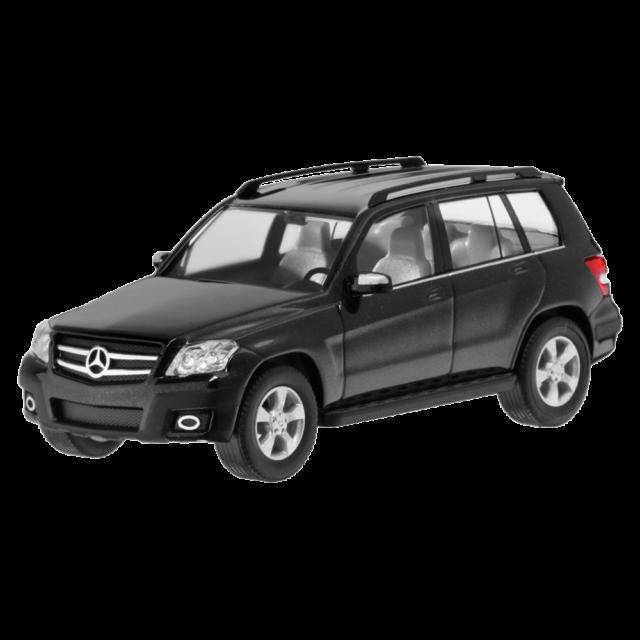 Mercedes-Benz Modellauto 1:87 PKW X204 GLK Offroader schwarz B66960325