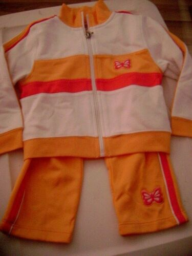 GIRL/'S 3 PC TRACK SUIT NEW SZ 18 MOS
