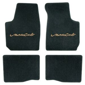 Chevrolet Monte Carlo Ss Carpet Logo Velourtex Carpet Floor Mats Ebay