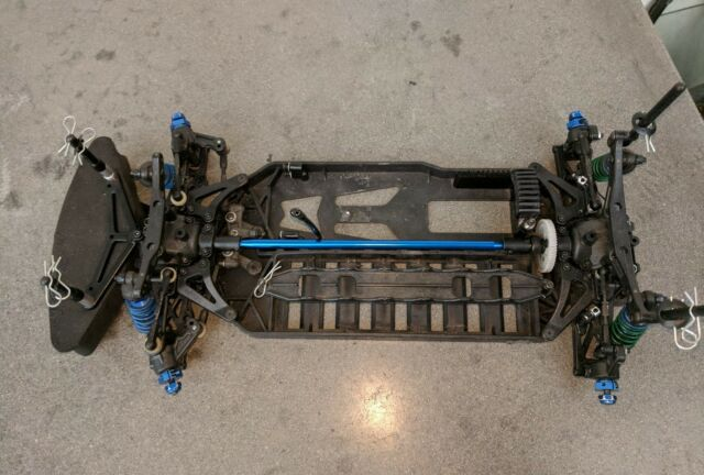 Team Associated TC4 Roller, RC On Road Racer, 4wd,1/10th Scale, Car Drift