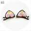 2pcs-Set-Cute-Hair-Clips-For-Girls-Glitter-Rainbow-Felt-Fabric-Flowers-Hairpins thumbnail 12