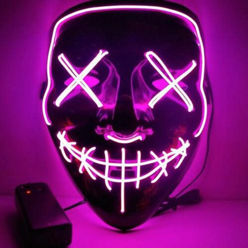 Neuf La Purge Masque LED de film d'horreur
