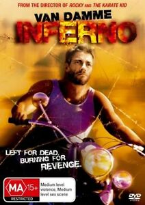 Inferno-VAN-DAMME-Left-for-dead-burning-for-revenge-LIKE-NEW-B6-RARE