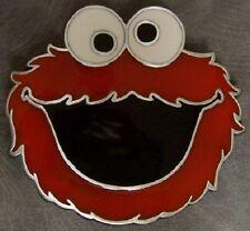 Pewter Belt Buckle cartoon character Sesame Street NEW