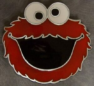 Pewter-Belt-Buckle-cartoon-character-Sesame-Street-NEW