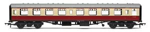 Hornby R4849 OO Gauge BR Maroon//Cream Mk1 2nd Open Coach M4365