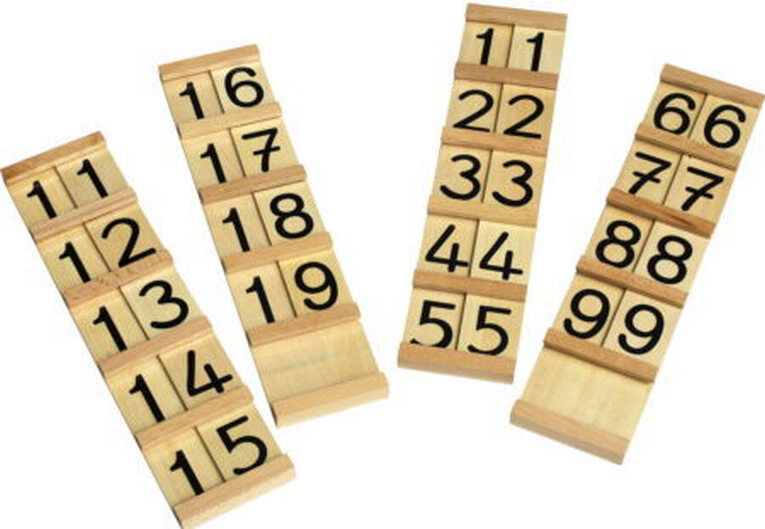 Montessori,Seguintafeln I & II im Set, MS11