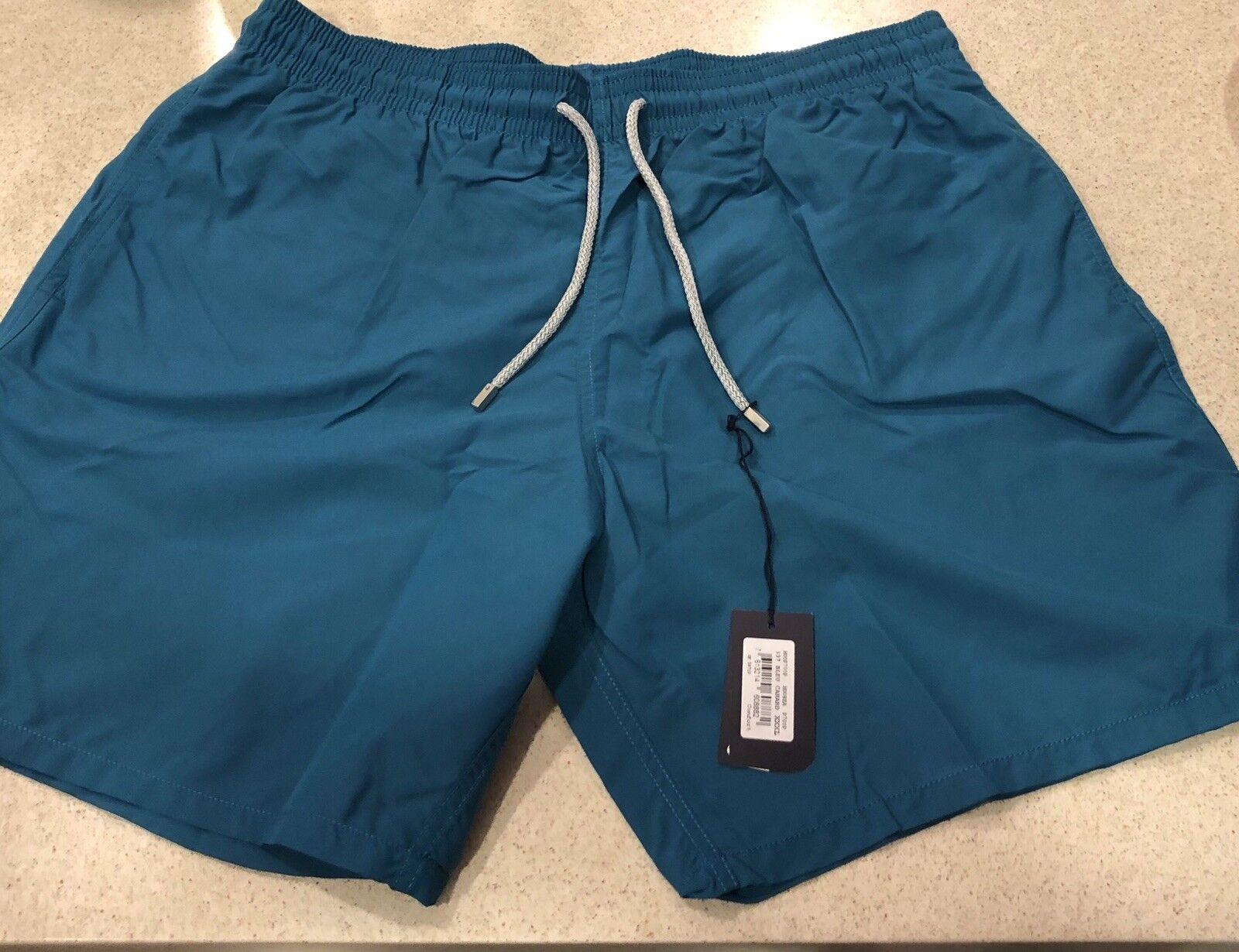 New w Tags Authentic Vilebrequin MOOREA bluee Swim Trunks for Men XXXL 3XL