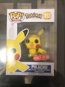 funko pop pokemon pikachu 353 target exclusive mint ebay