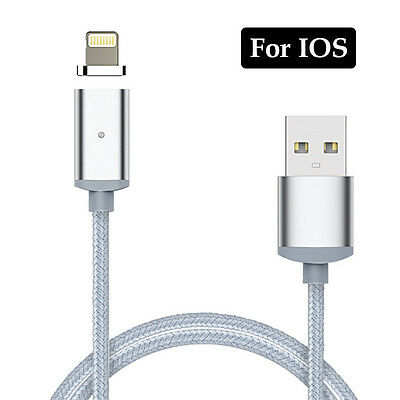 Magnetic Micro USB Type-C Charging Cable Adapter Charger For IOS iPhone Android