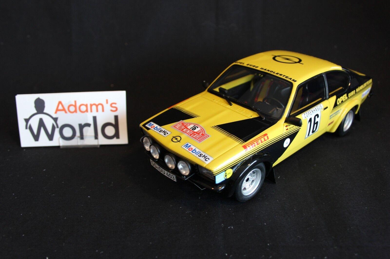 Otto Mobile Opel Kadett GT E Gr. 4 1976 1 18 Röhrl   Berger Rallye MC (JvdM)