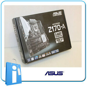 Placa-base-ATX-Z170-ASUS-Z170-A-Socket-1151-con-Accesorios