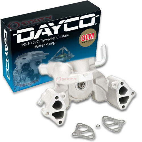 Dayco Water Pump for Chevrolet Camaro 1993-1997 5.7L V8 Engine Tune Up sl