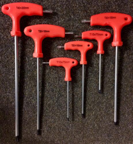 # 6-tlg Schraubendreher Set Torx T-Griff Schlüssel Satz Schraubenzieher Set