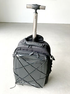 Hideo Wakamatsu Hybrid Carry On Backpack Black Suitcase Bag Ebay