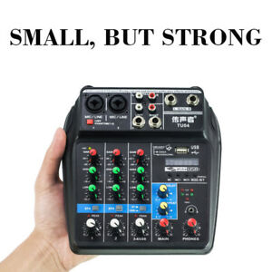 New-USB-Audio-Mixer-4-Channel-Professional-Powered-Mixer-power-mixing-Bluetooth