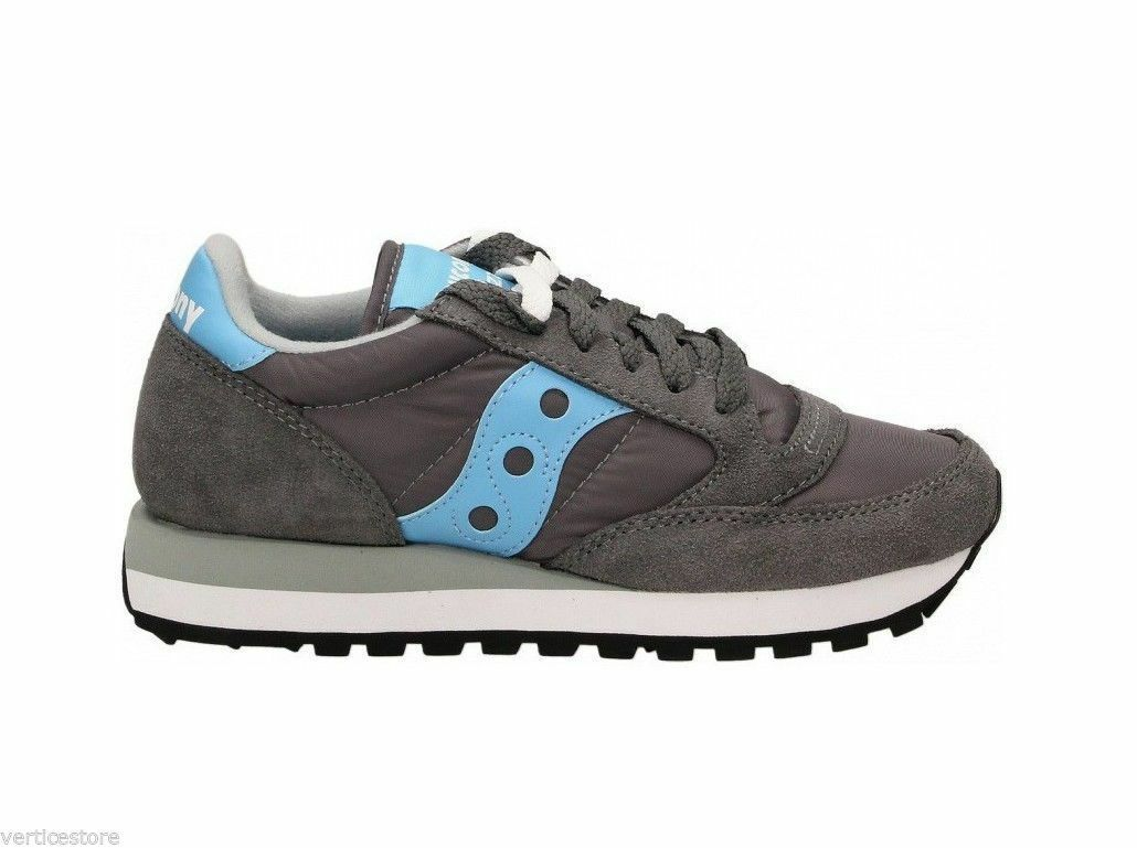 SCONTO 30 % SNEAKERS SAUCONY JAZZ DONNA CHAR / BLUE ART. 1044-361