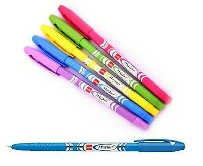 10 Cello TOPBALL-CLICK Ball Pen BLUE0.7mmFor Fast /& Smooth Writing
