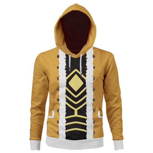 Details about  /My Hero Academia Keigo Takami//Hawks Print Hoodie Coat Suit Pullover Sweatshirt