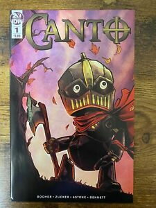 Canto 1 1st Print IDW 2019 NON-WRINKLED/WAVY Cover Hard To Find HIGH GRADE