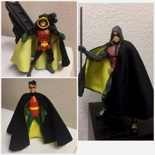 Custom Batman Robin Chiffon Cape Dc Collectibles animé Dc Multi-Univers Cap Seulement