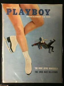 Playboy-magazine-Feb-1958-Cheryl-Kubert