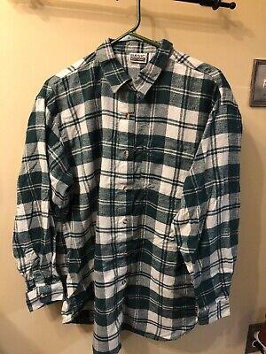 basic editions men's flannel xl  ebay