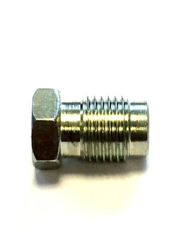 Hydraulic handbrake Unions Reducer Fit All Master Cylinders 1x7//16+1x3//8 fitment