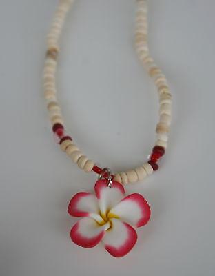 Hawaii Flower Anhänger Mit Coco Kette