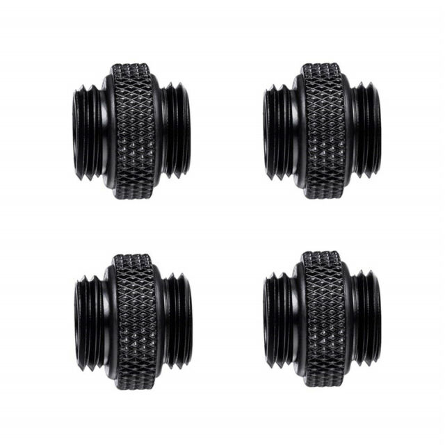 30mm G1//4 Thread Fittings Connector Adapter PC Water Cooling Tube Base Extender
