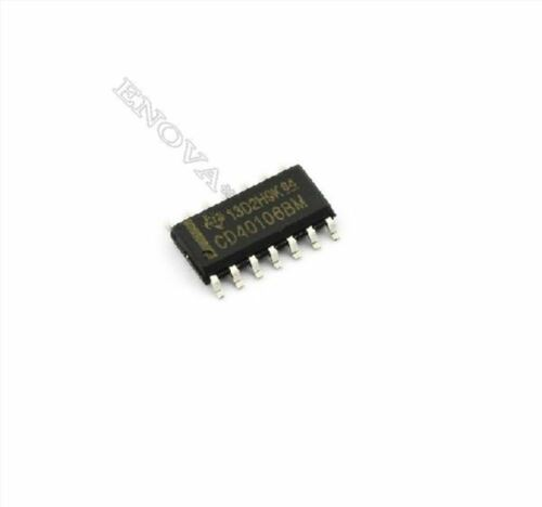 5 Stücke CD40106 HEF40106 HCF40106 Cmos Hex Schmitt Wechselrichter Löst SOP-1 bw