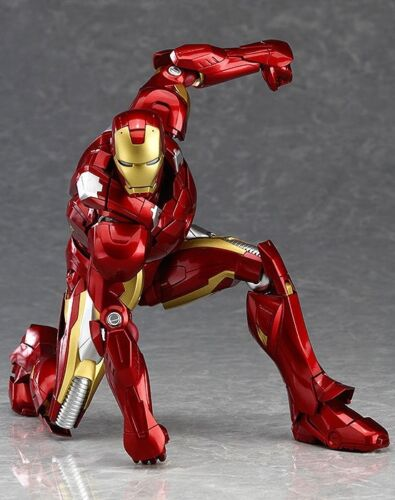 Figma 217 Marvel/'s The Avengers Iron Man Action Figure Toy Doll Collection Model