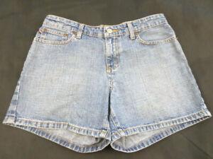 POLO-JEANS-CO-RALPH-LAUREN-Women-039-s-Denim-cotton-Blue-Shorts-SATURDAY-Size-4