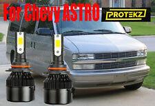 Led Astro 1995 2005 Headlight Kit 9006 Hb4 6000k White Cree Bulbs Low Beam