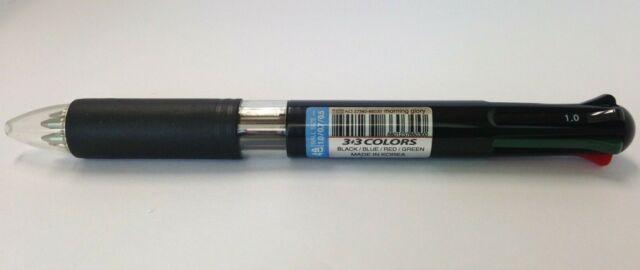 Morning Glory Retractable Morning Ballpoint Pen 0.7mm Black Ink 12 Pens