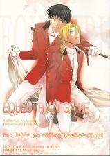 Fullmetal Alchemist YAOI Doujinshi Dojinshi Comic Roy x Ed Edward Equestrian Gam