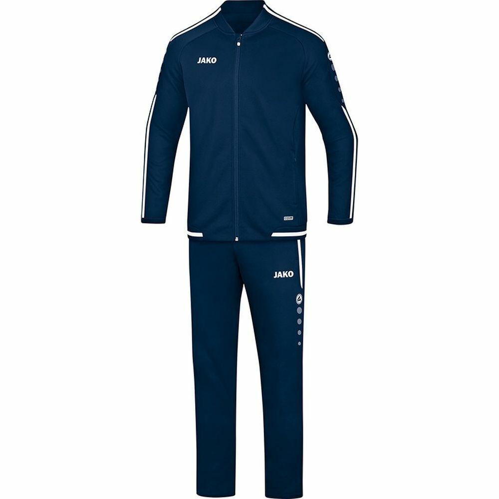 Jako fútbol presentación traje Striker 2.0 caballeros chaqueta pantalón blancoo Marine