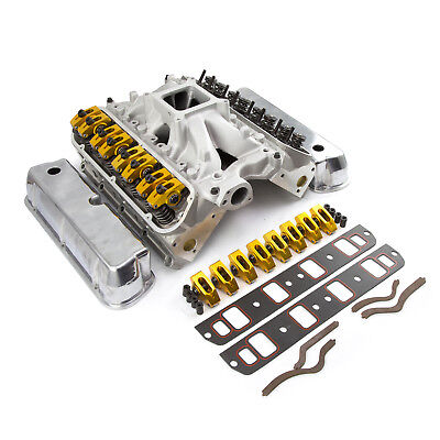 fits Ford SB 289 302 Hyd Roller 190cc Cylinder Head Top End Engine Combo  Kit   eBay