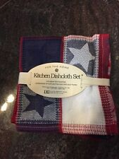 3 Pack Multi colored DII Kitchen Towel Set FREE shipping NEW Great Gift Idea