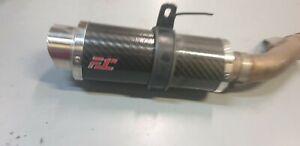 Scarico F1R per Honda CB 500 F/X Marmitta Fuelexhaust Carbonio Scarico Sportivo