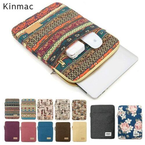 Kinmac ® Laptop Bag Custodia 10 COLORI FASHION Uomini Donne Borse MacBook Soft