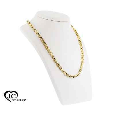 ECHT GOLD Königskette in 750 Gold Halskette in 50cm Goldkette 18 Karat - 3475