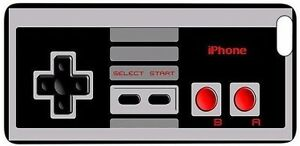 GAME-NES-Controller-Rubber-Silicone-Quality-case-iPhone-5-5S-SE-6-6S-7-8-X-XS