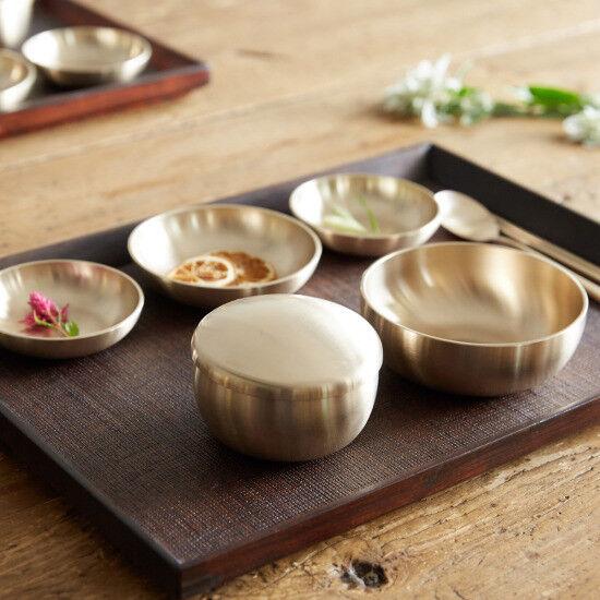 Korean Handmade brassware Yugi vaisselle 8P pour 1 personne yoons Cuisine