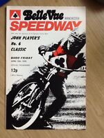 Belle Vue - John Player's No.6 Classic Speedway Programme 16/04/76