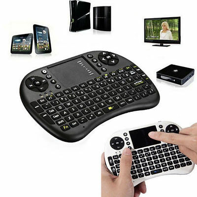 Mini 2.4G Wireless Fly Air Keyboard Mouse Touchpad For Smart TV Xbox PC Android