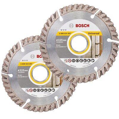 Bosch 2608615057 115 mm standard universel lame de scie diamant