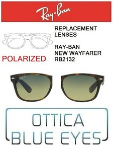 Lenti-di-Ricambio-RAYBAN-NEW-WAYFARER-RB2132-Replacement-Lenses-Ray-Ban-POLAR-76