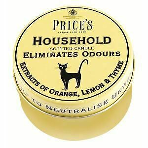 Price's Household Tin - Eliminates Household Odour Neutralise Unwanted Smells